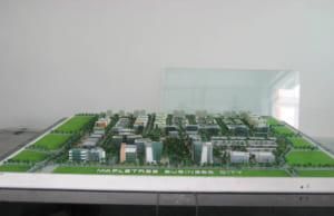 Mô hình kiến trúc khu công nghệ cao Mapple Tree