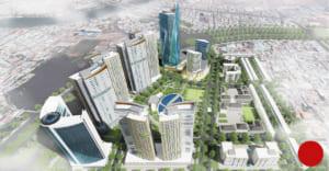 Mô hình kiến trúc dự án Diamond Bay City