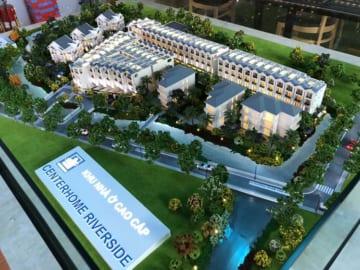 Mô hình kiến trúc khu nhà ở cao cấp Centerhome Riverside